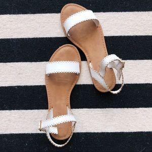 Cute White Sandals💐